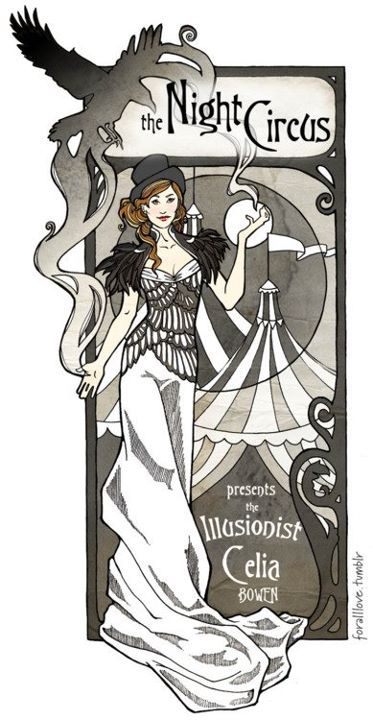 The Illusionist Celia Bowen - The Night Circus
