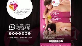 PLANES SPA PARA PAREJAS - DÍA DE LA MUJER - YouTube Conoce nuestros planes, ingresa a http://celebracionesyeventos.com/planes-celebraciones-eventos.html #eventos #celebraciones #Bogota #logistica #organización #planes #diadelamujer #spa #relajación #romance #parejas