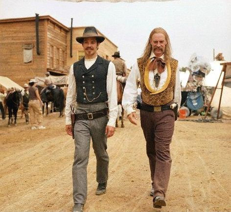 Seth Bullock and Wild Bill Hickcock