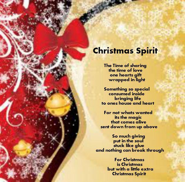Christmas Poems!