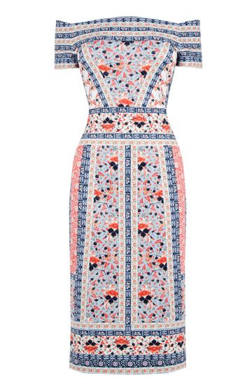 V&A Print Bardot Dress Oasis