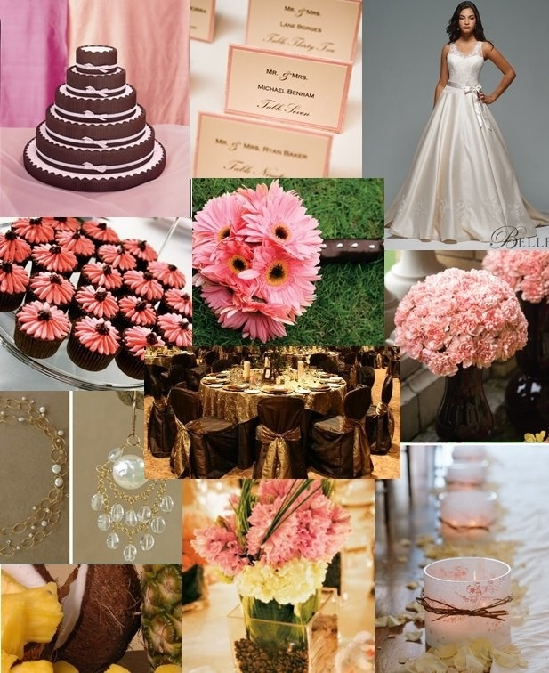 Pink And Brown Wedding Ideas: 55 Best Pink & Red Wedding Ideas And Inspiration Images On