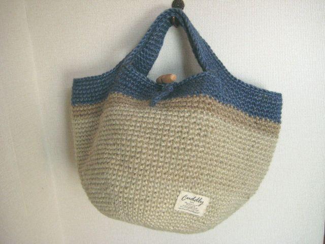 麻ひもバッグ 編み方 編み図 - Google 検索