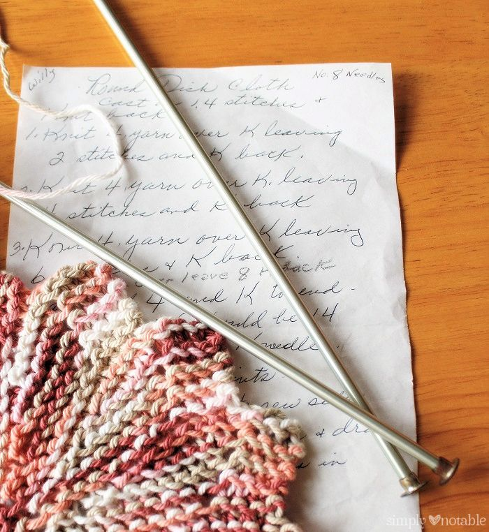 An Almost Lost Washcloth Tutorial | SimplyNotable.com