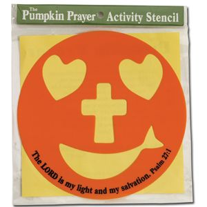 teachers use this stencil on a paper plate free resources christian halloween or fall - Religious Halloween Crafts