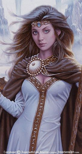 In Norse mythology, Skaði (sometimes anglicized as Skadi, Skade, or Skathi) is a jötunn and Goddess associated with bowhunting, skiing, winter, and mountains.