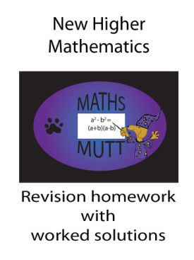 Revision for the SQA Higher Maths course.(AS)