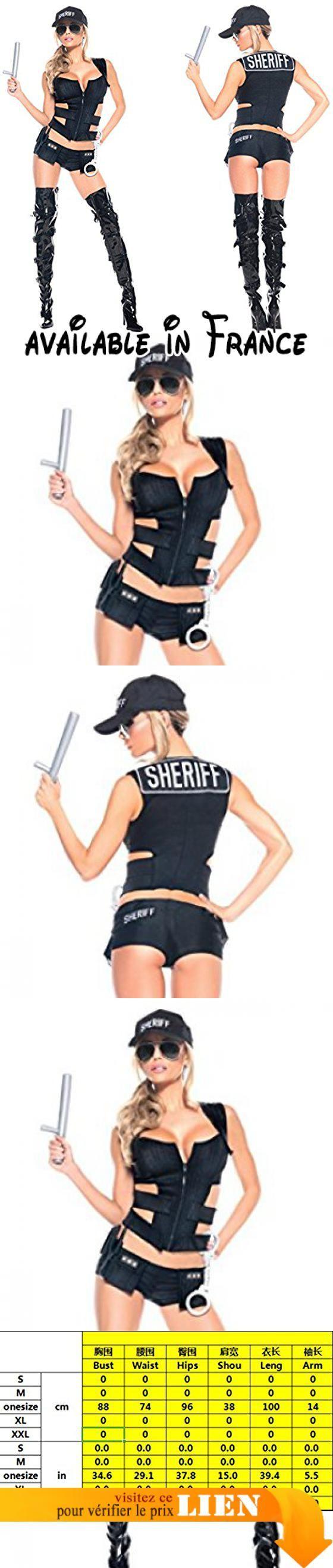 B075B6XNT3 : Nihiug Halloween Cos European Cool Policie Cosplay Police Costume Sexy Personnalité Humour Dance Performance Terrible TeenagersA. Costume féminin unique. Des costumes sexy pour les adultes ludiques. Hot sexy costume qui est plein. Forme et amusement un costume simple et sexy pour une nuit chaude. L'heure d'arrivée de la logistique devrait atteindre 7-15 jours