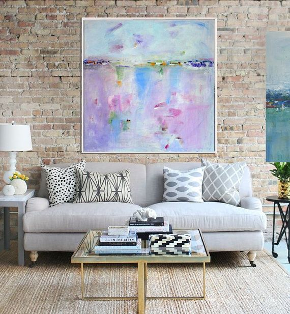 Abstract Giclee Print from Original Abstract acrylic by Artzaro