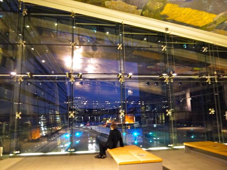 Linda biblioteca Diamante Negro em Copenhague, dicas de viagem no blog planningmytravels.