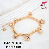 Perhiasan Gelang Globe Hello Kitty Exlusive Wanita Lapis Emas 18k R 1388    Fast Respon  BBM : D5B0B9AB  WA : 081546577219