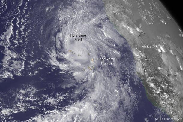 A hurricane warning has never been issued for the Cape Verde Islands. Until Fred, that is. http://climate.gov/news-features/event-tracker/wait-hurricane-formed-where-atlantic…