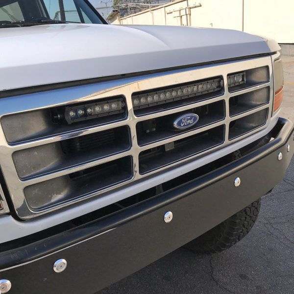 30 Single Row Led Light Bar Bracket Ford Bronco F Series Truck Solo Motorsports Chevy Trucks Ford Bronco Truck Accessories Ford