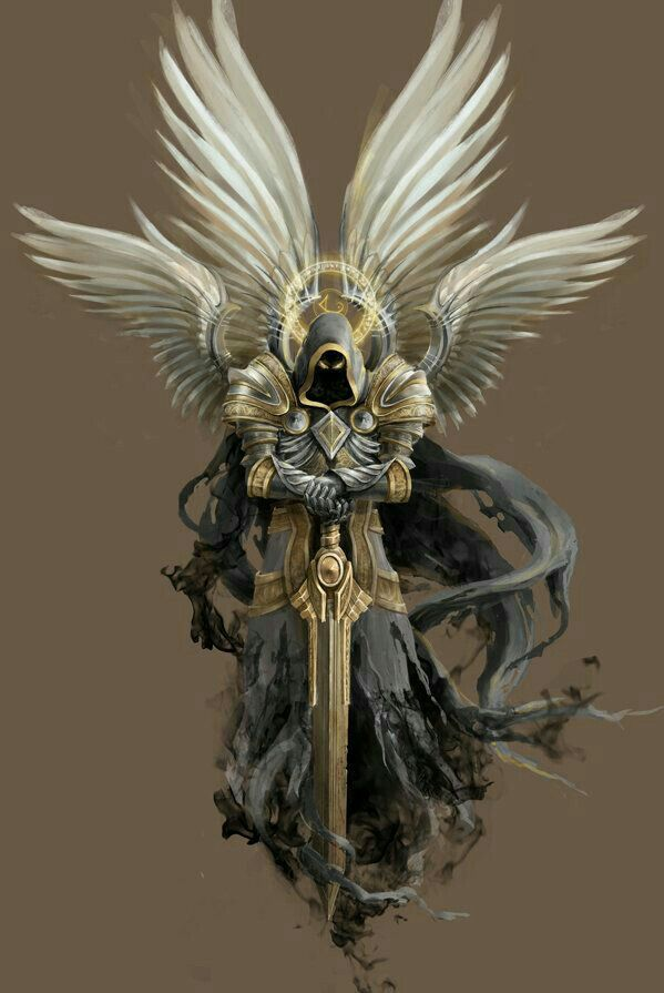 Empyrean Angel of Valor - Pathfinder PFRPG DND D&D d20 fantasy