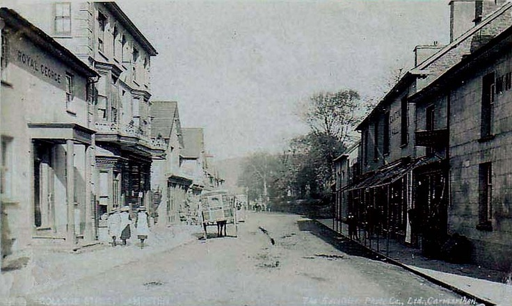 College Street, Lampeter 1900's