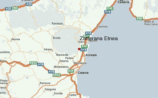 Where is Zafferana?