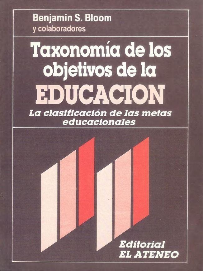 Libro - Taxonomia de los objetivos de la educacion - Benjamin Bloom