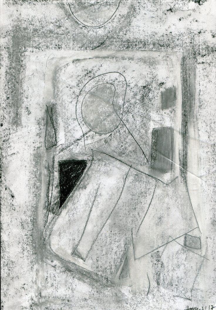 https://flic.kr/p/Wy7HiM | Podarte zdjęcie | Grafit, ołówek, kreda