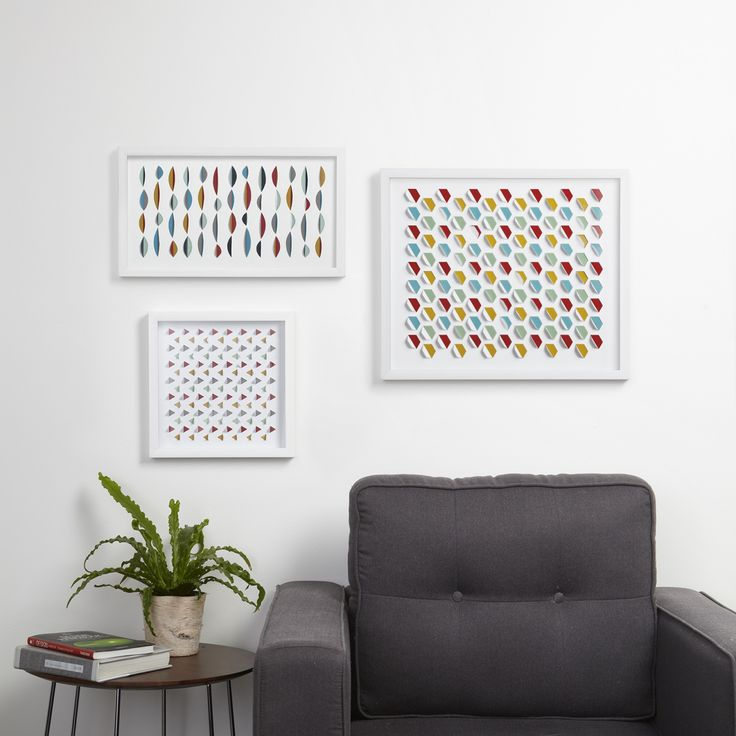 HIVE GEOMETRIC And WAVE Wall Decor By Moe Takemura
