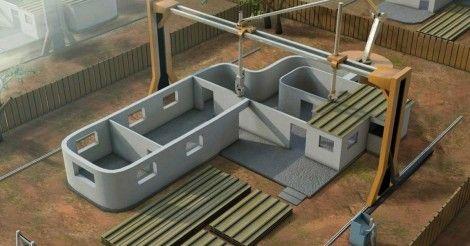 La impresora 3D portátil que imprime casas está cerca de volverse realidad en Argentina