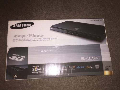 #Samsung #bd-5500 blue ray 3d dvd player #brand new unopened ,  View more on the LINK: 	http://www.zeppy.io/product/gb/2/321931079519/