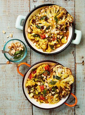 The weekend cook: Thomasina Miers' recipes for Sri Lankan cauliflower curry and miso and soy salmon sticky rice | Life and style | The Guardian