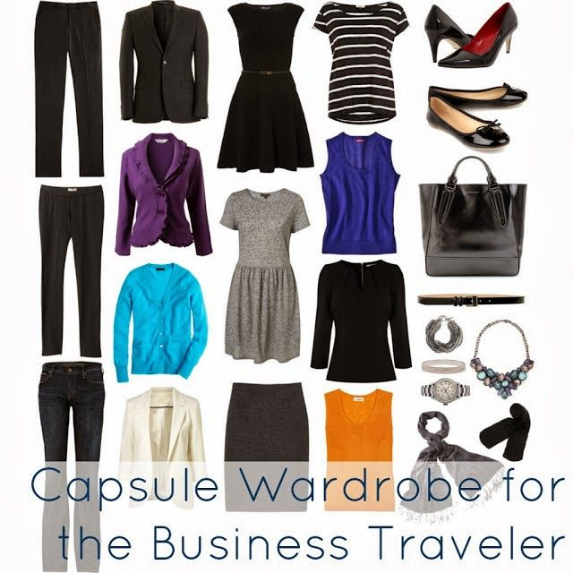 Tips on Building a Capsule Wardrobe (and links to various capsules)--Wardrobe Oxygen: