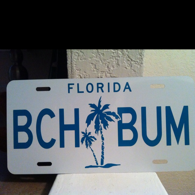 Custom front license plates. You design! $24.99