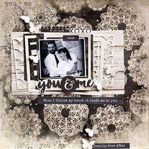 Kaisercraft May - Always & Forever - You & Me. Belinda Spencr
