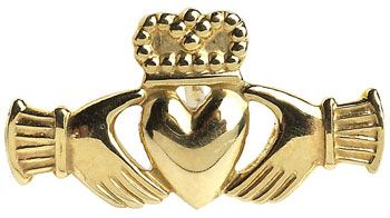 Claddagh Tie Tac at Claddaghrings.com #valentinesgifts #tietac $75.00