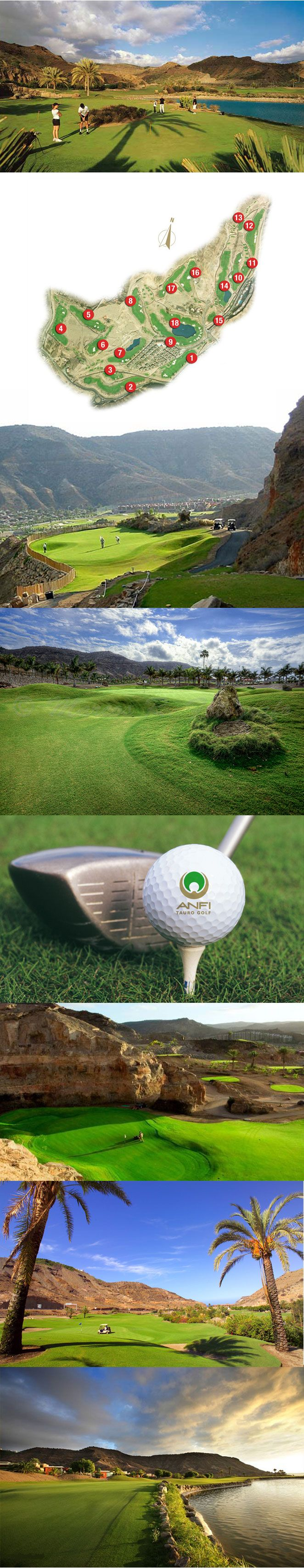 Anfi Tauro Golf, Gran Canaria. Another beautiful golf course!