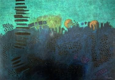 "Saatchi Art Artist Barbara Lis; Painting, ""Nocturn 03"" #art"