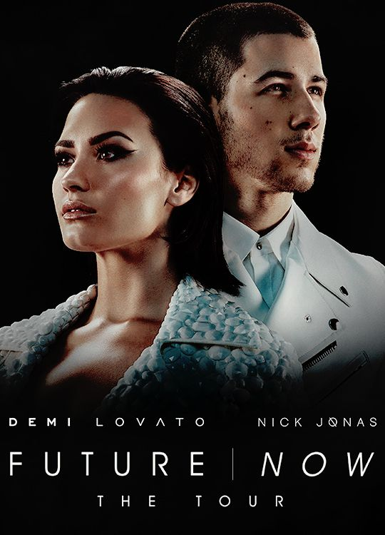 """Demi Lovato and Nick Jonas 