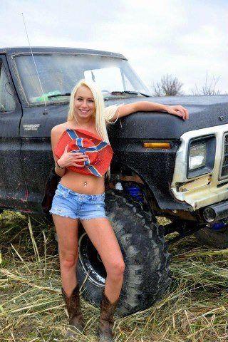 # Country Girl & pickup truck   Hot Truckin   Trucks ...