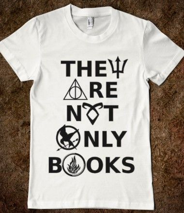They Are Not Only Books (Percy Jackson, Harry Potter, Mortal Instruments, Hunger Games, Divergent)
