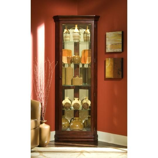 Clearance Victorian Cherry Corner Curio For The Home