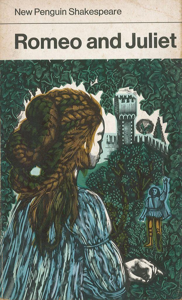 Romeo and Juliet by William Shakespeare. Penguin 1973. Cover artist David Gentleman