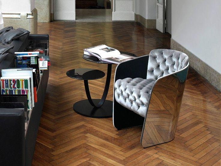 Upholstered Armchair SIR   Nube Italia