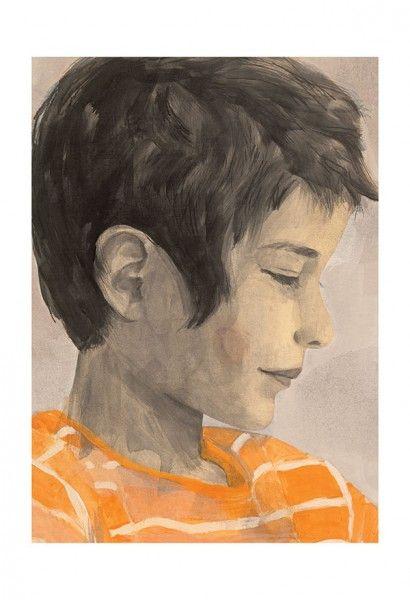 Mingan * Rogé * Boy * Portrait * Acrylic * Illustration * Art