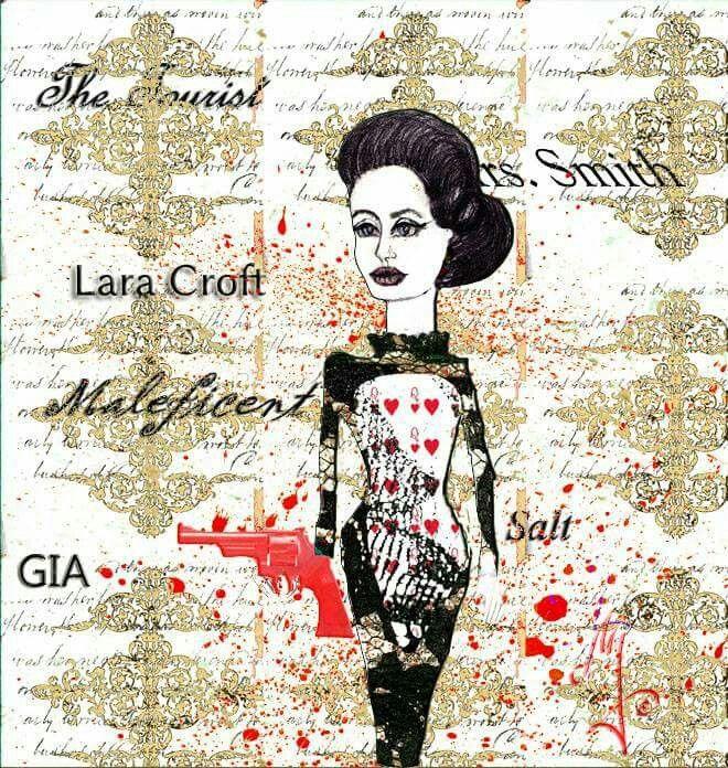 Angie -fashion illustration