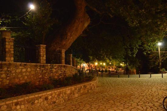 Kalavrita by night