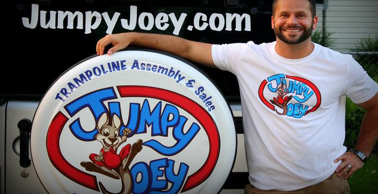 Jumpy Joey Trampoline Company Trampoline Sales & Assembly Services 2850 Shoreline Trail Suite 230 Rockwall, TX 75032 http://www.JumpyJoey.com Joey@JumpyJoey.com 214-930-3109 TEXT or Call