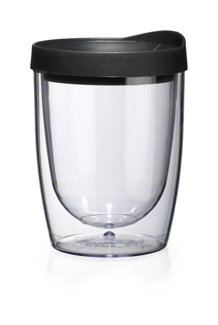 Stemless Tumbler, 10 Oz Double Wall Tumbler With Lid, Kids Tumbler, BPA, Acrylic Tumbler With Lid, Stemless Tumbler
