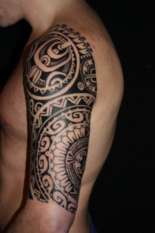 Marquesan tattoo by Rob Deut his tatts are the best I've seen. Based out of Amsterdam I think #marquesantattoosdesigns