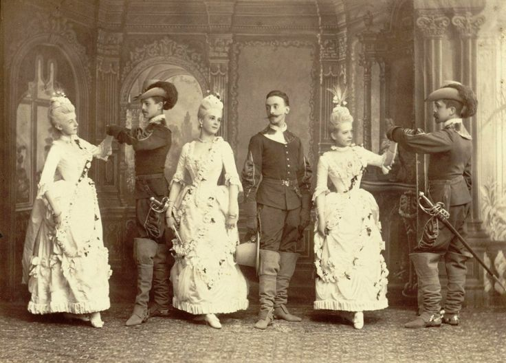 Costume ball May 1888 in the Palace of Grand Duke Vladimir.