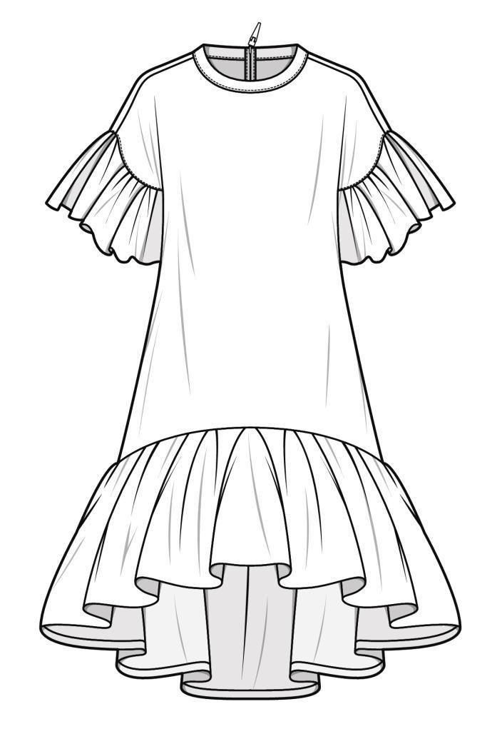 Картинки белая юбка карандашом