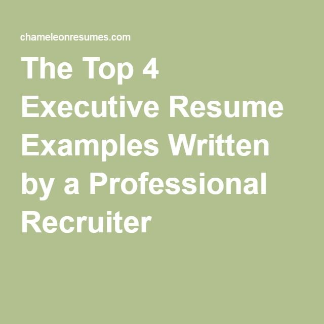 The 25+ best Executive resume ideas on Pinterest Executive - business management resume examples