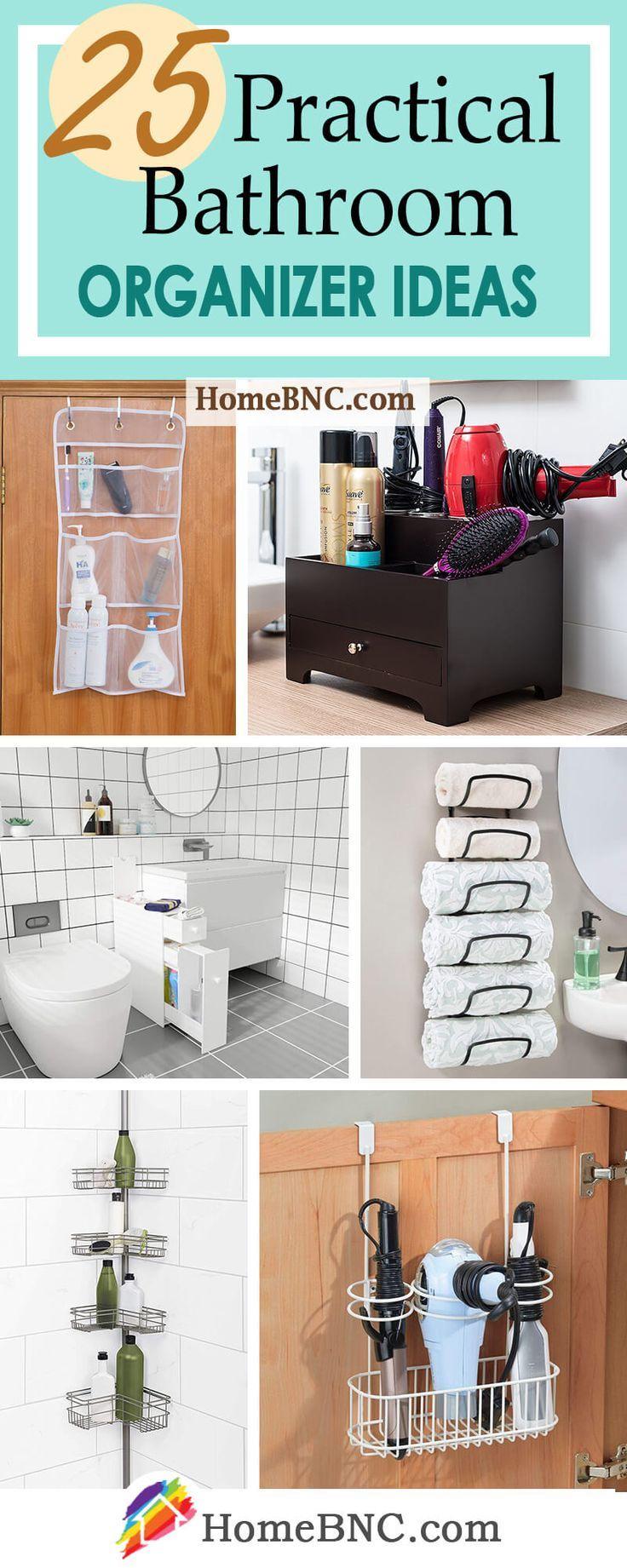 Easy And Affordable Diy Bathroom Organizer Ideas To Keep In Mind Top Cool Diy Bathroom Organisation Bathroom Organization Diy Bathroom Organization Practical bathroom organization ideas