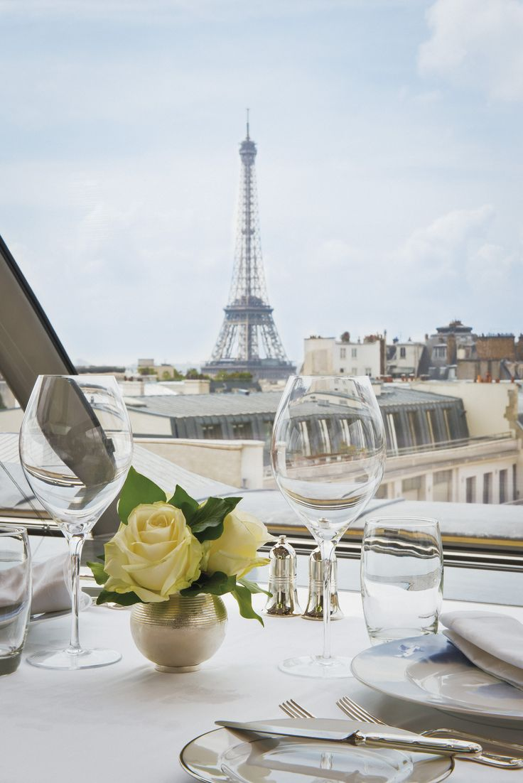 Dinner with a view...at The Peninsula Paris