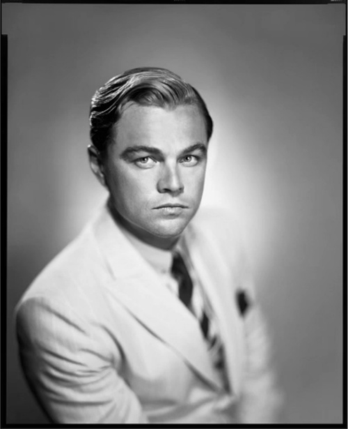Leonardo DiCaprio as Jay Gatsby, by Hugh Stwert